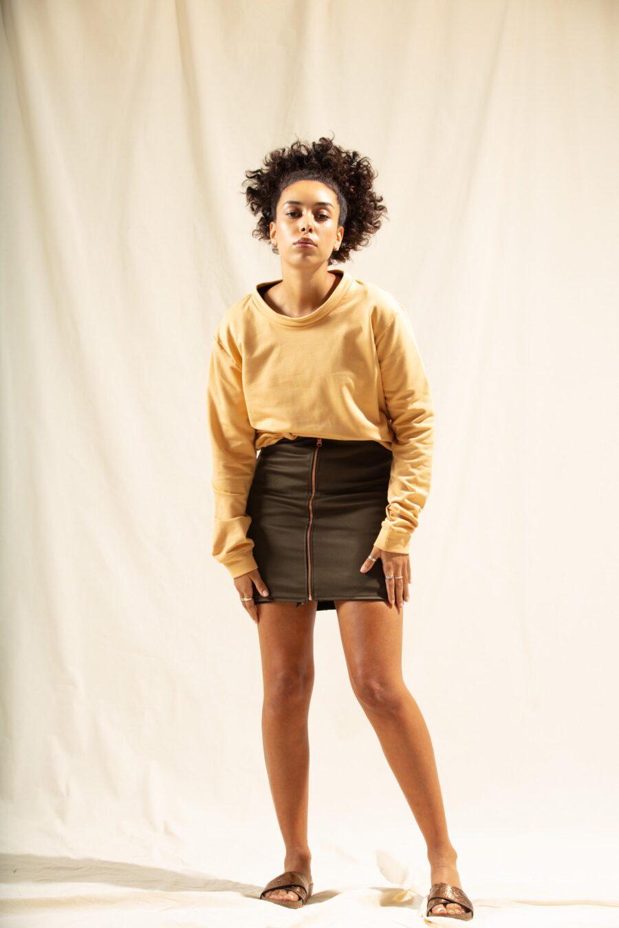 Biobaumwolle Sweater Frauen